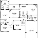 Traditional Bedroom Bath House Plan Plans Floor