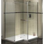 Trend Homes Walk Shower Modern