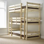 Triad Single Tier Heavy Duty Solid Pine High Triple Sleeper Bunk