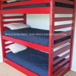 Triple Bunk Beds Our Space Saving Solution Amy Lynn