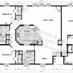 Triple Wide Manufactured Home Floor Plans Lock Into Also Bedroom Mobile