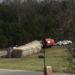 Truck Hauling Bees Overturns Wilson County Wrcbtv Chattanooga News Weather
