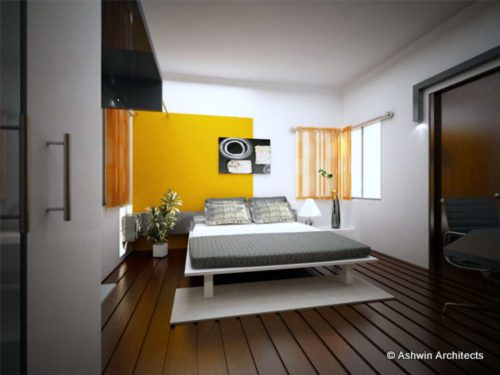 Ultra Modern Bedroom House Plan Designs