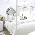 White Guest Bedroom Makeover Bedrooms Decorating Ideas