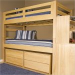 Wooden Triple Lindy Bunk Bed Plans Designs Kids Room